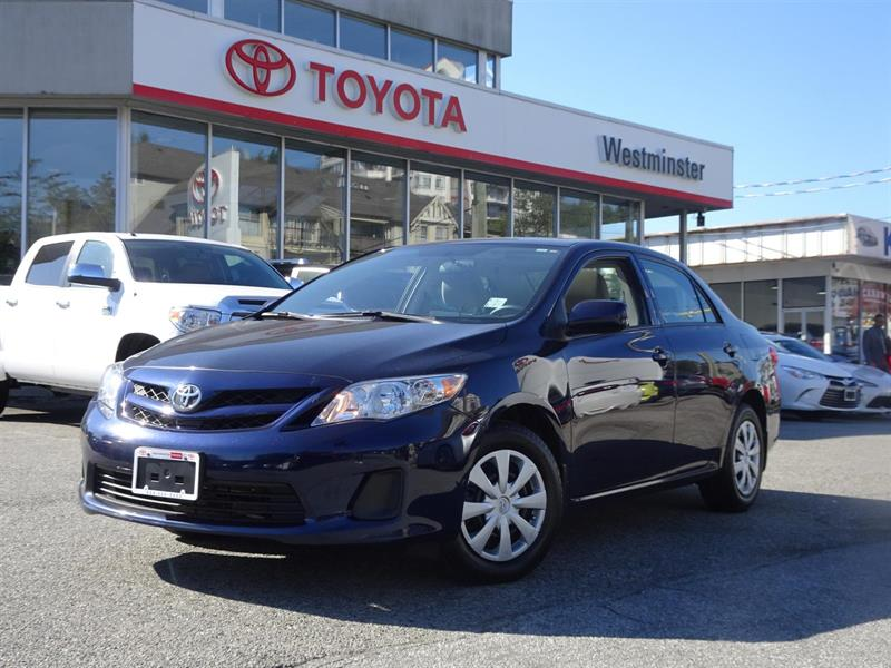 2013 Toyota Corolla Sunroof Package #P6387T