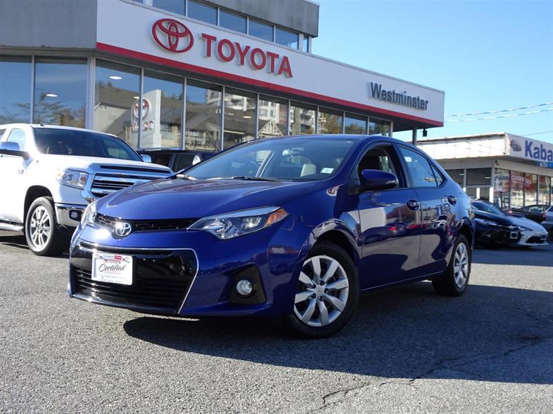 2014 Toyota Corolla Sport #P6394T