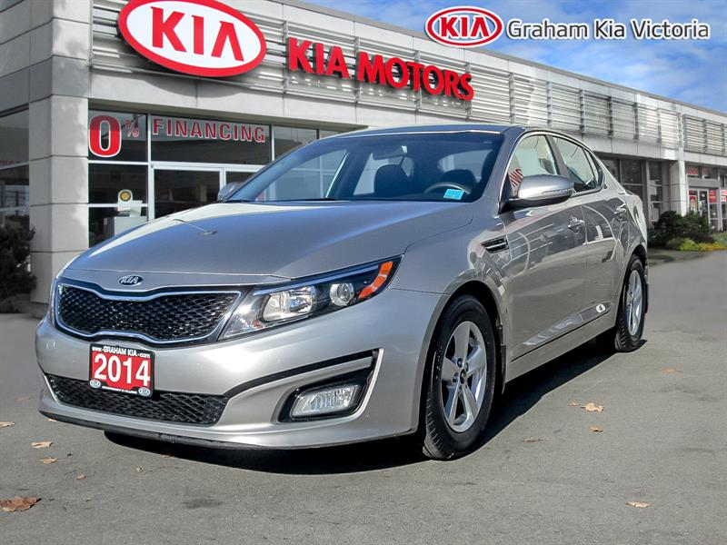 2014 Kia Optima Factory Warranty/Perfect Carproof #SO18-104A