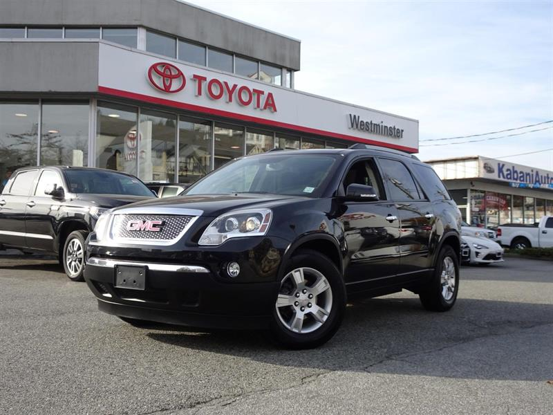 2012 GMC Acadia SLE2 All Wheel Drive #TN17910B