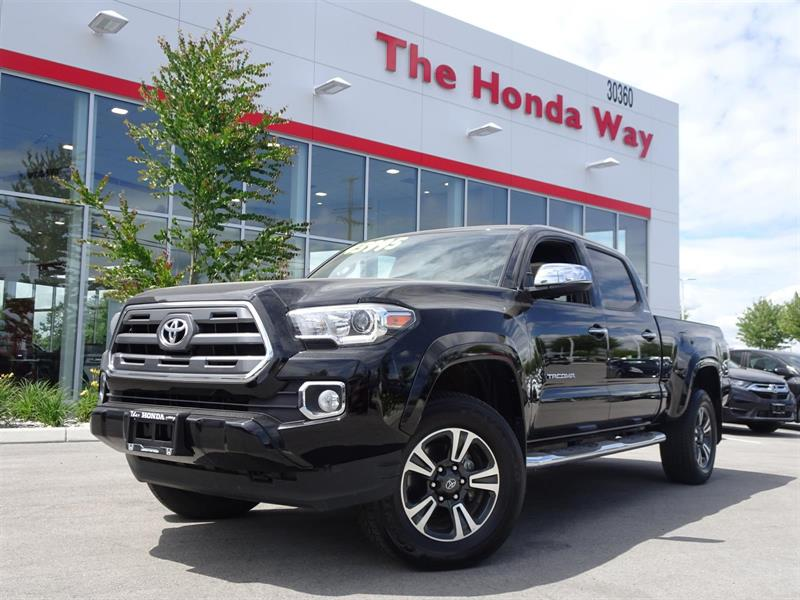 2016 Toyota Tacoma Limited Double Cab Super Long Bed V6 5AT 4WD #P5016