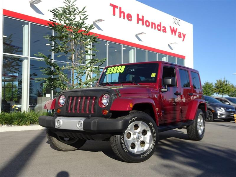 2013 Jeep Wrangler Unlimited Sahara 4WD #P5057