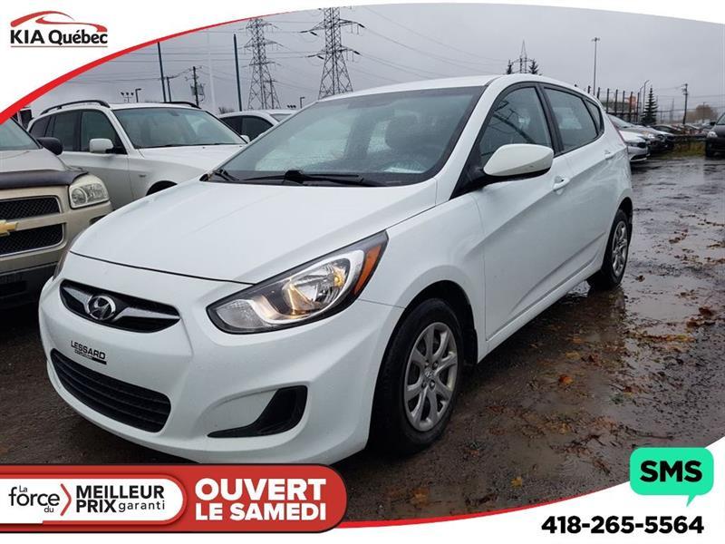 Hyundai Accent 2013 GL* AUTOMATIQUE* SIÈGES CHAUFFANTS* #QU10031
