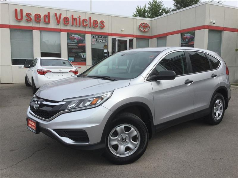 2016 Honda CR-V LX- AWD, BLUETOOTH, BACKUP CAMERA, HEATED SEATS #P6652