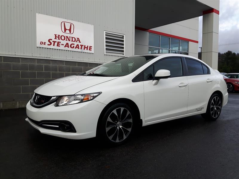 Honda Civic 2013 4dr Si *205Hp, GPS, 2.4L I-Vtec* #h327xa