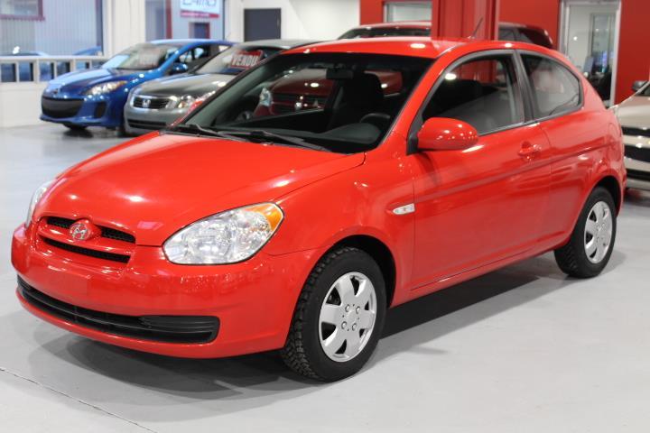 Hyundai Accent 2010 GL 2D Hatchback #0000000343