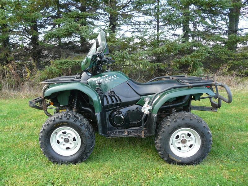 Yamaha Grizzly 660 2005