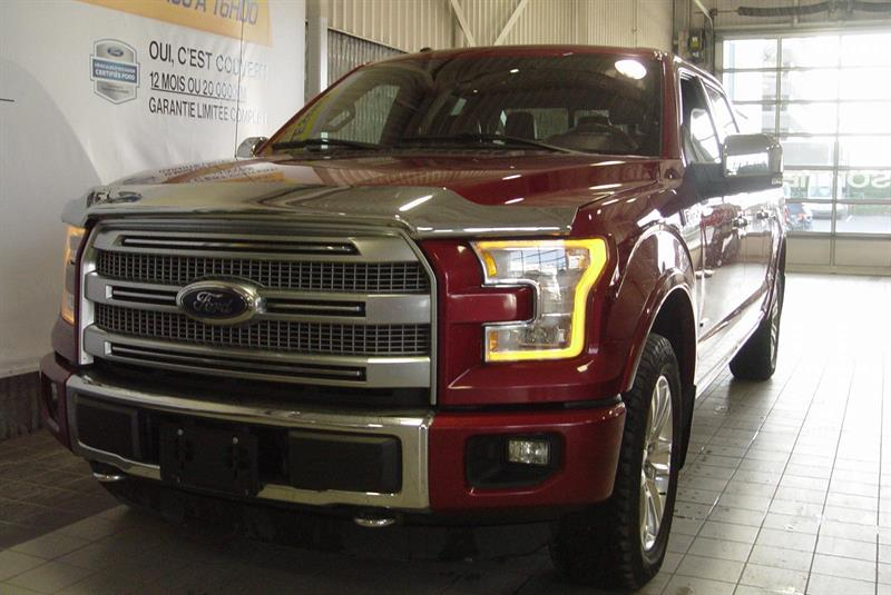 Ford F-150 2015 PLATINUM DU GRAND LUXE #62618