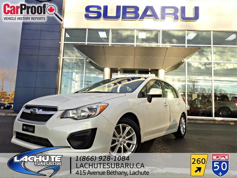 Subaru Impreza 5  WOW 49000 KM 2013 2.0i w/Touring Pkg #A1920