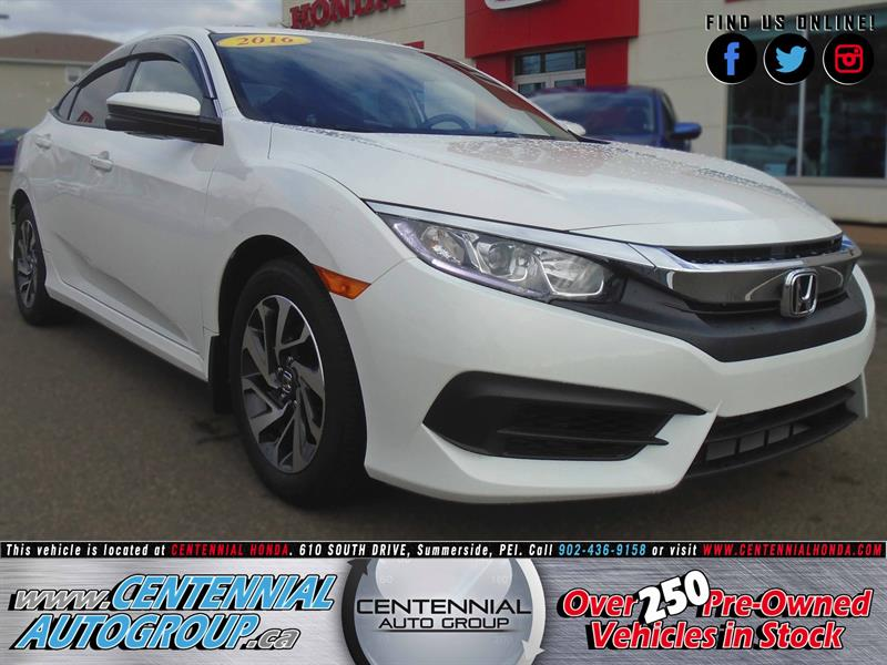 2016 Honda Civic Sedan EX | 2.0L | i4-Cyl | Bluetooth | Air Condition #8820A