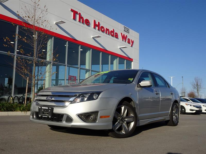 2010 Ford Fusion V6 Sport AWD #17-821A