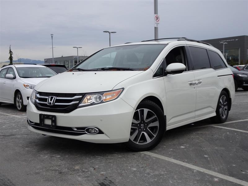 2015 Honda Odyssey Touring! Honda Certified Extended Warranty to 120, #LH7780