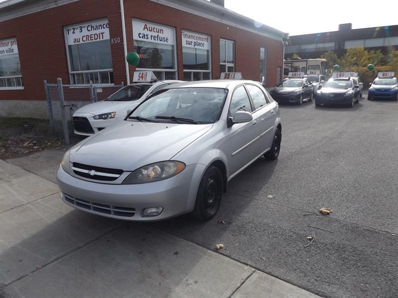 Chevrolet Optra 5 2004 5dr HB LS #2054-11