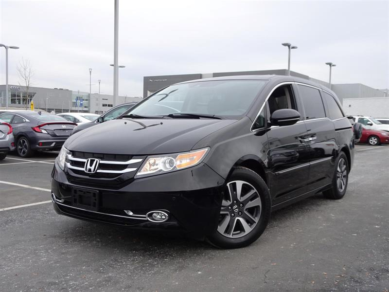 2016 Honda Odyssey Touring! Honda Certified Extended Warranty to 120, #LH7788