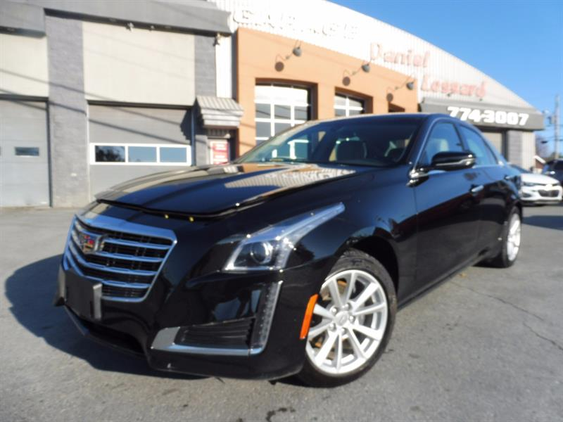 Cadillac CTS Sedan 2017 2.0 TURBO, CUIR, CAMERA, MAG 17 POUCES #77527