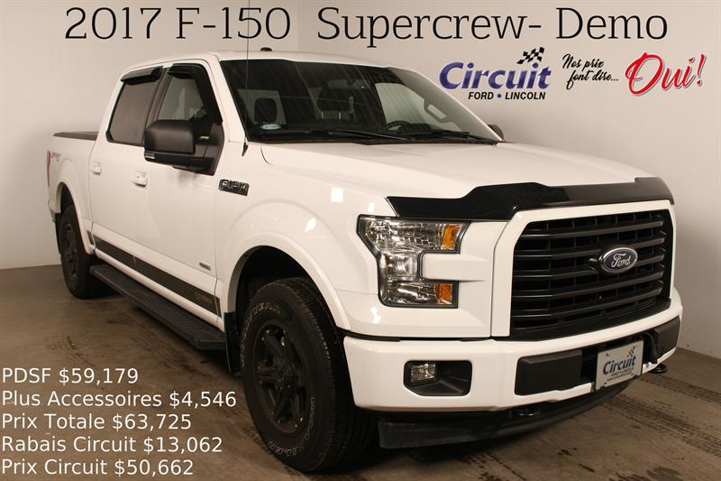 Ford F-150 2017 4WD SuperCrew 145 #70573