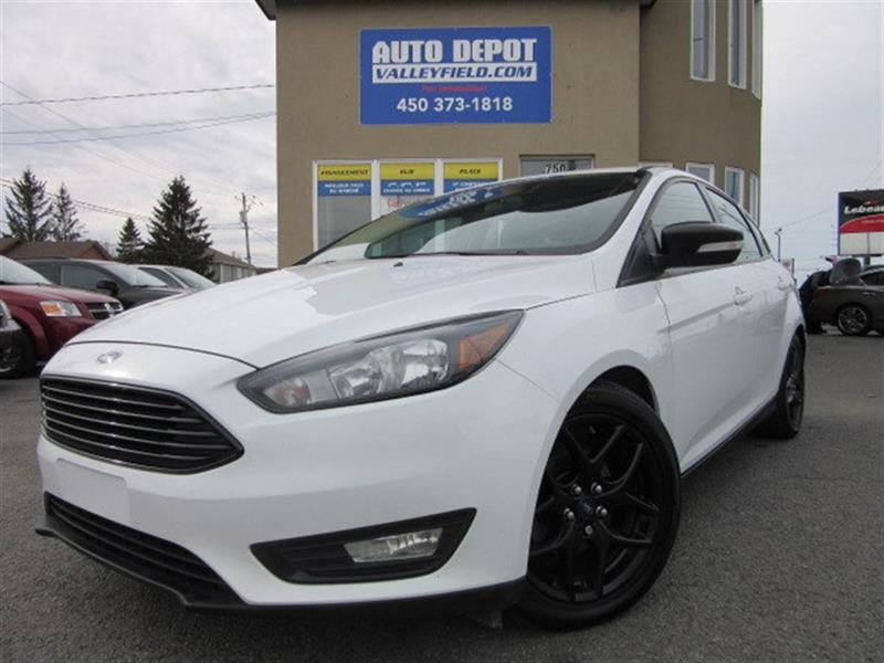 Ford FOCUS 2015 SE + Mags, Caméra, Black Edition #P0807
