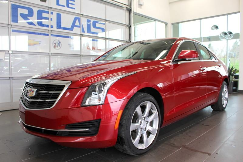 Cadillac ATS Sedan 2015 Luxury AWD #72136