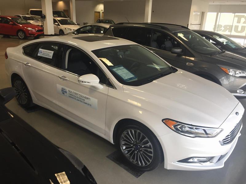 Ford Fusion SE 2017 AWD/MAGS/TOIT/CUIR #U3408