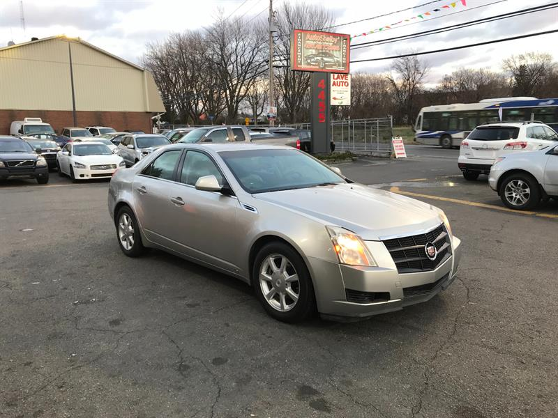 Cadillac CTS 2008 AUTOMATIC-CUIR-TOIT-3.6L #94287-2