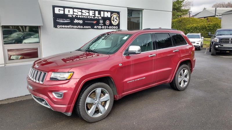 Jeep Grand Cherokee 2015 Overland *PLAN OR 5/100 + CH. D'HUILE* #J3937A