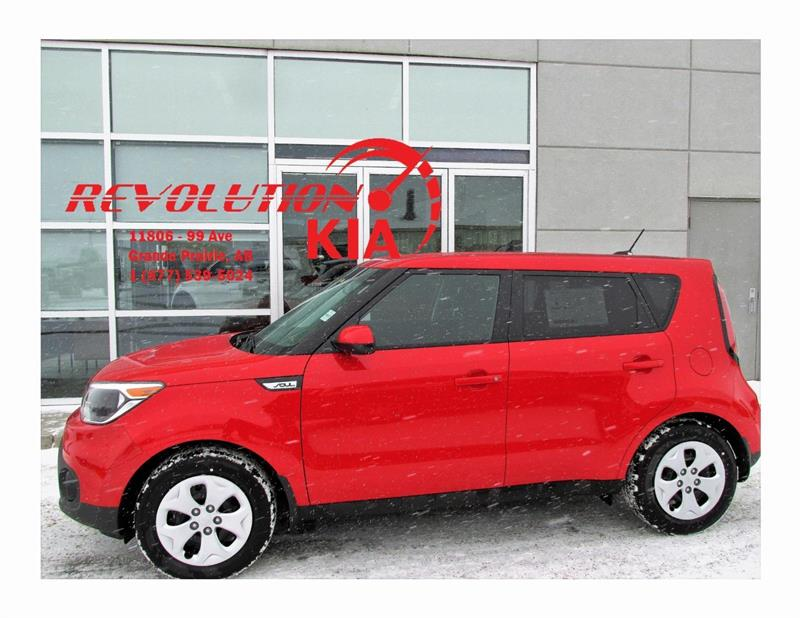 2017 Kia Soul LX 5-SPEED #N886262