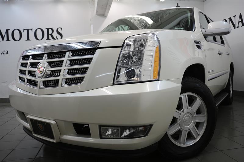 2010 Cadillac Escalade AWD ESC PKG NAV CAM 7PASS HEATED SEATS DVD #8145