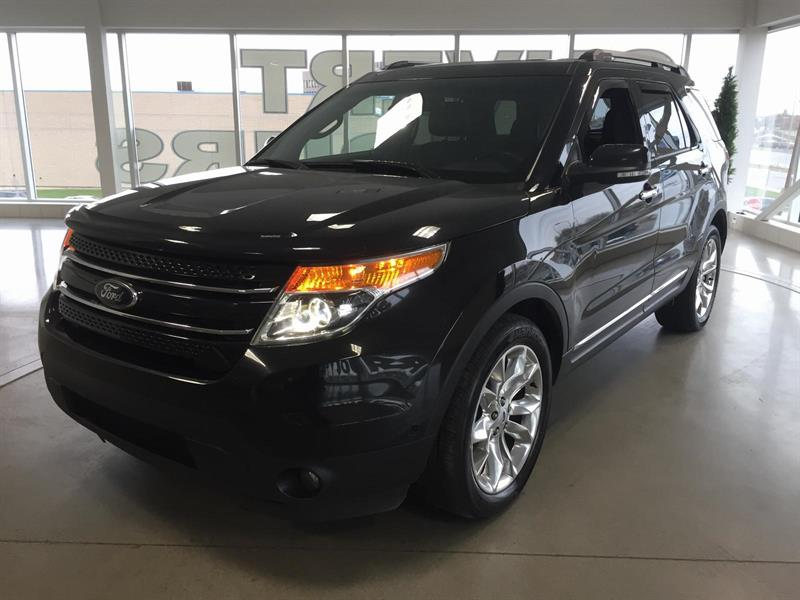 Ford Explorer Limited 2014 AWD/NAVI/CAMERA/7PAS #L6135A