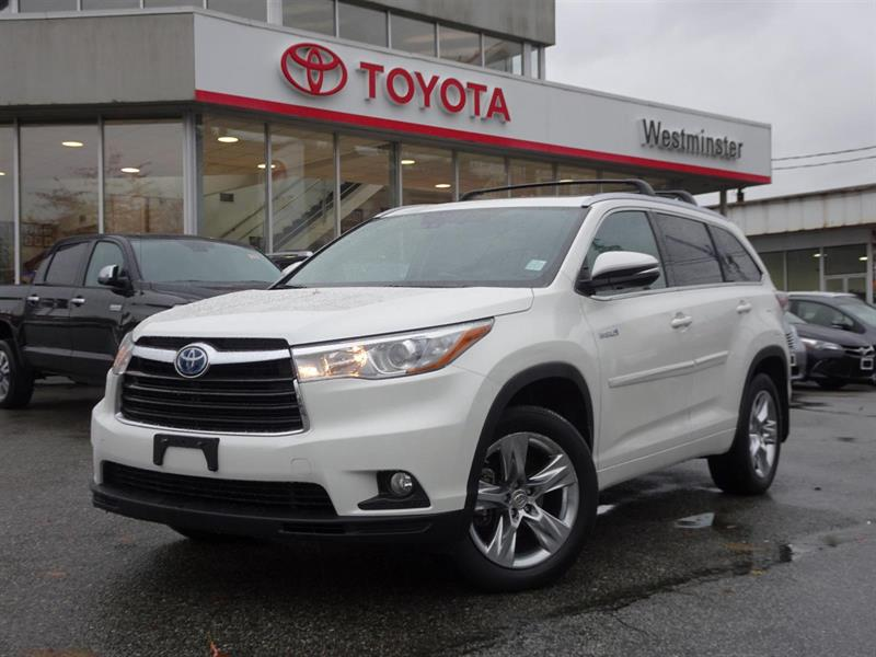 2014 Toyota Highlander Limited Hybrid #P6425T