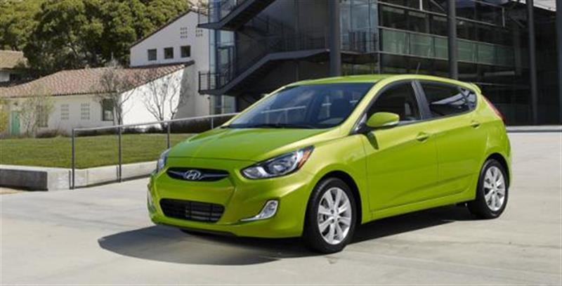 Hyundai Accent 2012 5dr HB #J0071A