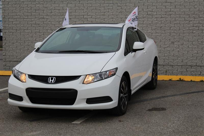 Honda Civic Coupe 2013 EX--automatique,Air climatisé,toit ouvrant,mags-- #U1219