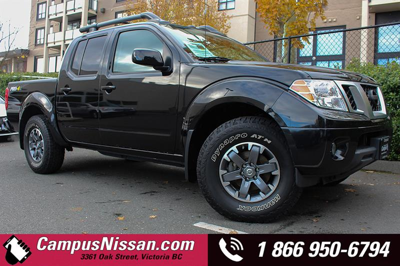 2016 Nissan Frontier 4WD Crew Cab PRO-4X LEATHER #A7086