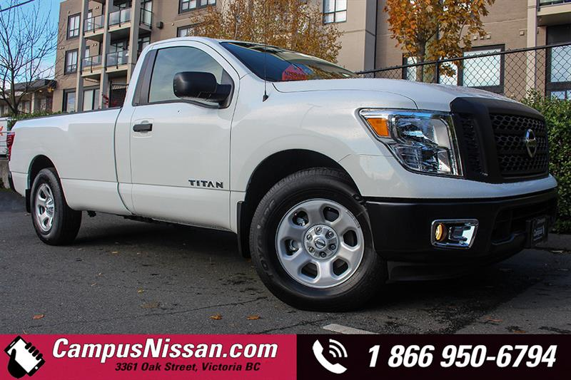 2017 Nissan Titan 4x2 Single Cab #D7-U789
