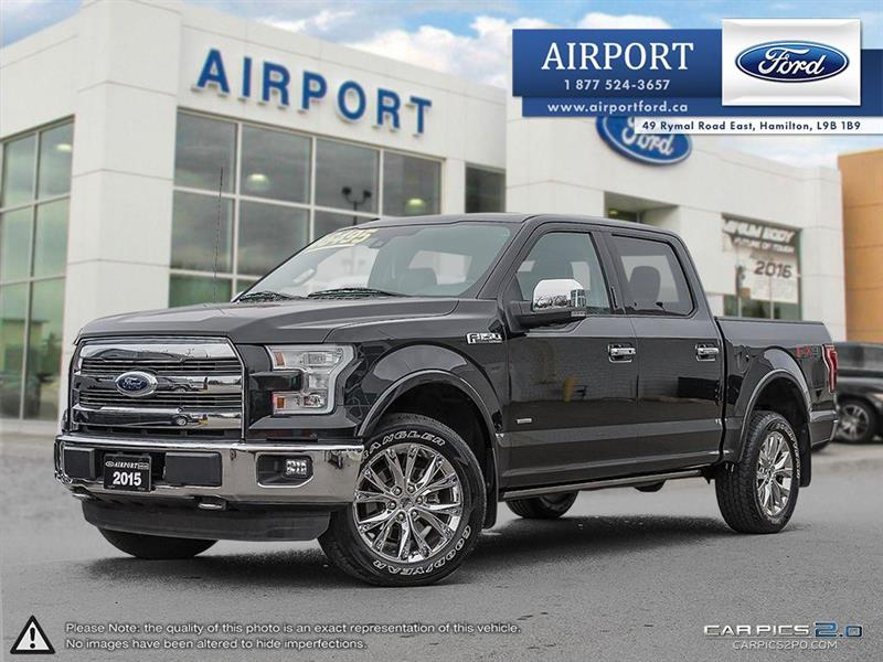 2015 Ford F-150 Lariat 4X4 FX4 with only 38,600 kms #A71142