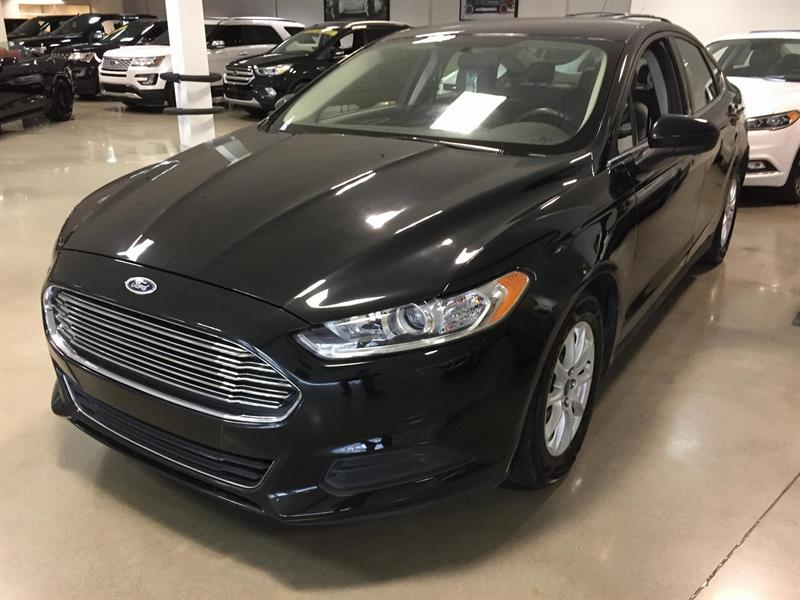 Ford Fusion S 2015 MAGS/CELL/CAMERA #M7724A