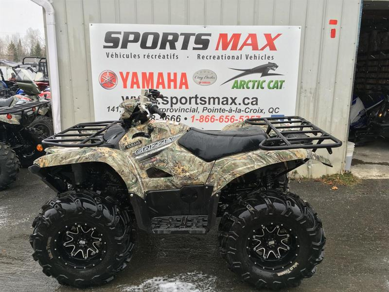 Yamaha Used Grizzly EPS 2016