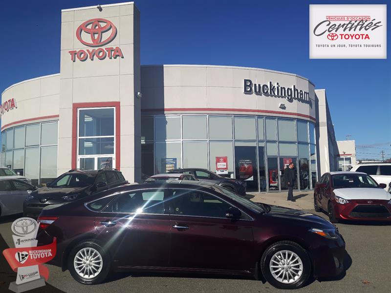Toyota Avalon 2013 V6 LIMITED  #18181A