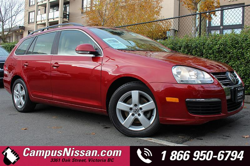 2009 Volkswagen Jetta Wagon Highline w/ Leather #7-P720A