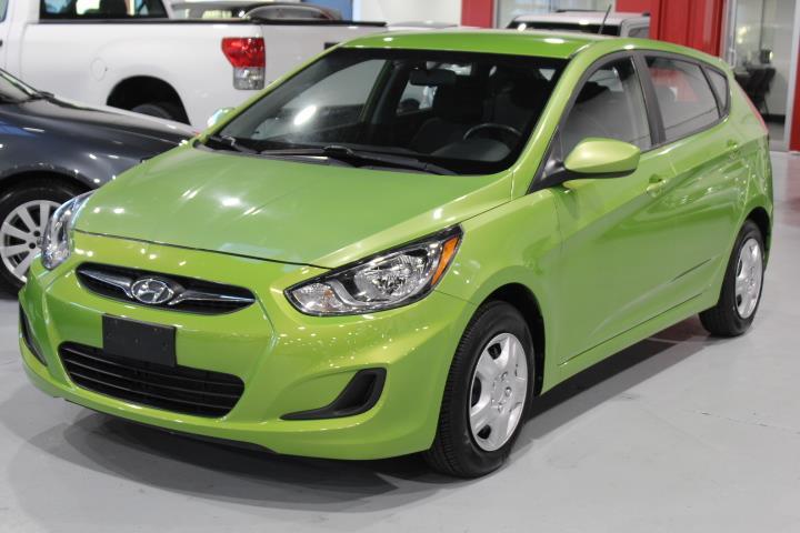 Hyundai Accent 2012 L 4D Hatchback 6sp #0000000255