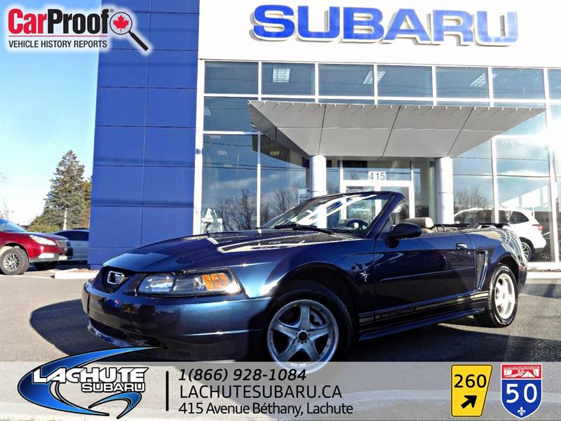 Ford Mustang CONVERTIBLE   WOW 76000 KM 2001 CUIR #A1833C