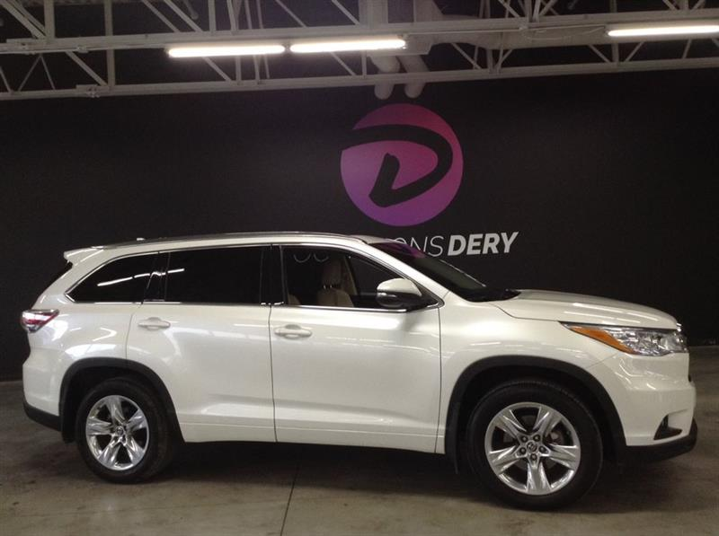 Toyota Highlander 2016 LIMITED 7 PASSAGERS NAVIGATION CUIR TOIT PANO ET + #A5219
