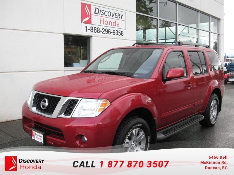 2012 Nissan Pathfinder S AWD at  - one owner - l #17-549A
