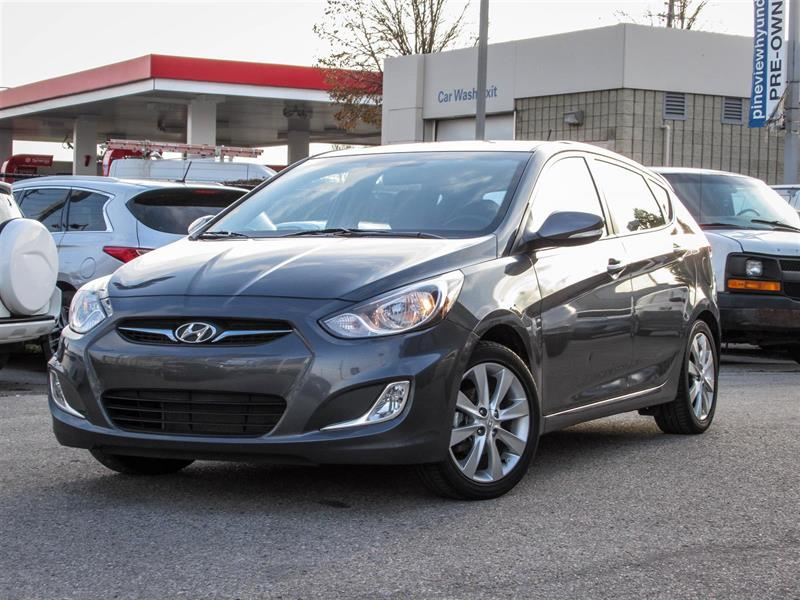 2013 Hyundai Accent GLS SUNROOF