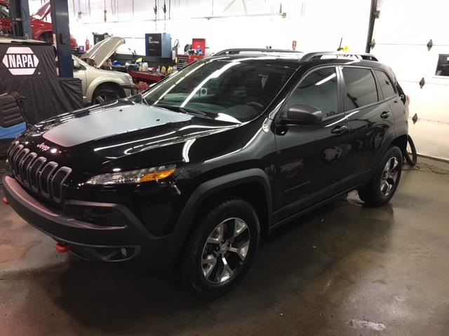 Jeep Cherokee 2017 TRAILHAWK LEATHER PLUS +TOIT + NAV #Z17724