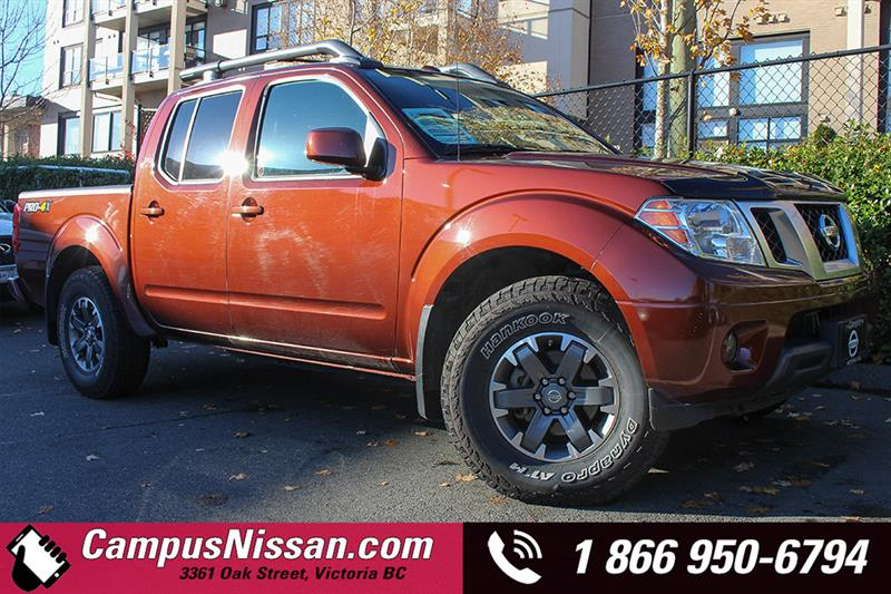 2016 Nissan Frontier Crew Cab PRO-4X Leather #A7094