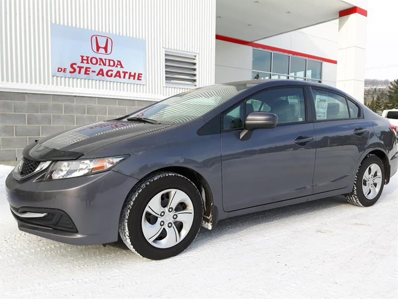 Honda Civic 2014 LX Auto - ***Bluetooth, USB, Cruise, Groupe élect. #h304xa