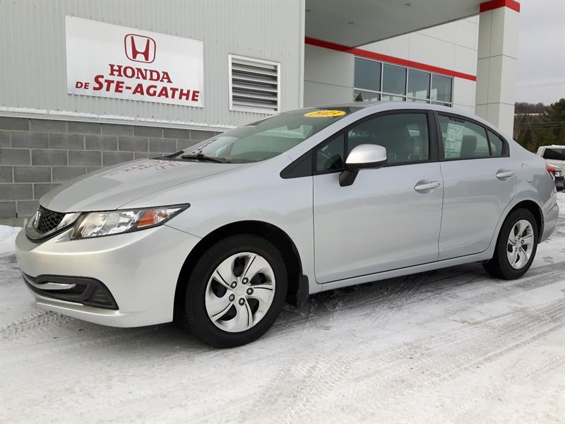 Honda Civic 2013 Man LX ** CERTIFIÉ HONDA *** #h048a