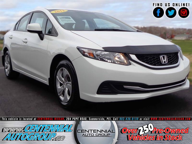 2013 Honda Civic Sedan LX | 1.8L | Bluetooth | AC #SP17-021A