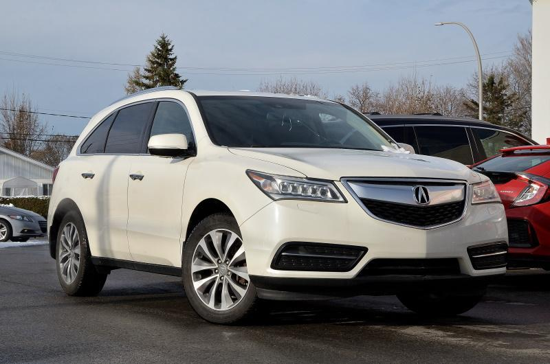 Acura MDX 2014 CUIR DVD MAGS TECHNOLOGIE PACKAGE #U-0881