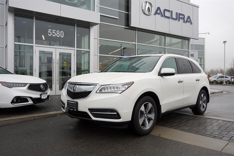 2016 Acura MDX SH-AWD Bluetooth Sunroof Camera #P5803